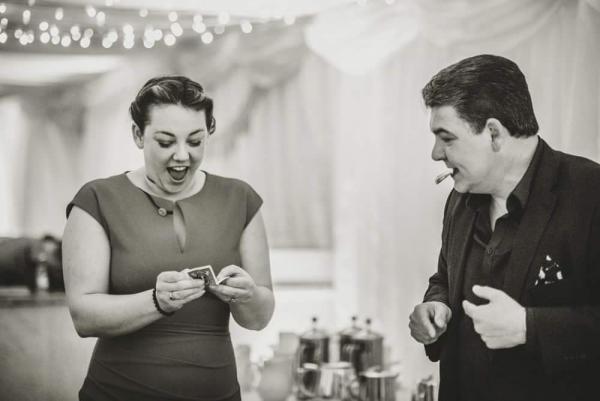 Wedding Magician in Cornwall Darren Brand