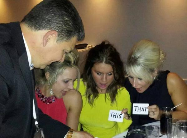 Lancashire magician Darren Brand at charity event