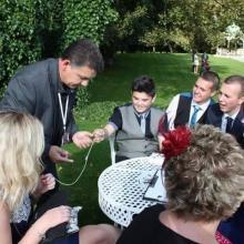 Corporate magician in Cornwall Darren Brand