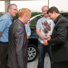 Lancashire Magician at a corporate event.